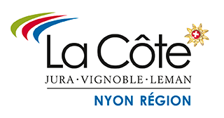 logo - Destination Montagne, Hiking, snowshoeing, nordic walking - La Côte Region - Tourist Office